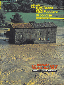 Copertina Notiziario n. 45 - Dicembre 1987 Speciale Alluvione