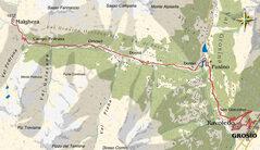 mappa Val Grosina occidentale