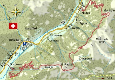Da Teglio a Tirano