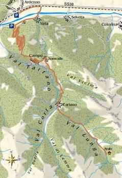 mappa Val Tartano